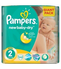 Pampers Active Baby 2 mini 3-6 кг (100 шт)