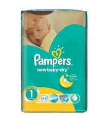 Pampers Active Baby 1 newborn 2-5 кг (43 шт)